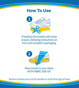 Dr. Scholl's AIR-PILLO Insoles // Ultra-Soft Cushioning and Lasting Comfort with Two Layers of Foam that Fit in Any Shoe (One Size fits Men's 7-13 & Women's 5-10)