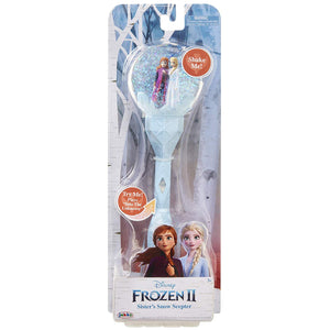 "Frozen 2 Sisters Musical Snow Wand Costume Prop Scepter, Plays ""Into The Unknown"" Perfect for Child Costume Accessory, Role Play, Dress Up or Halloween Party"