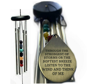 DIRECT Shipping 12 inch Sympathy Memorial Wind Chime Gift after loss Rush Shipping for Funeral Loss in Memory of Loved One