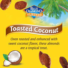 Load image into Gallery viewer, Blue Diamond Almonds Blue Diamond Gluten Free Almonds, Toasted Coconut, 14 Ounce 10041570109424 14 Ounce (Pack of 1)