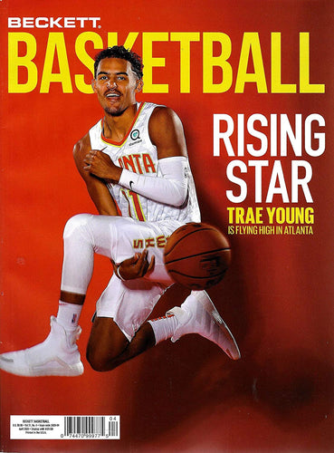 NEWEST GUIDE: Beckett Basketball Card Monthly Price Guide (March 6, 2020 release/T. Young cover)