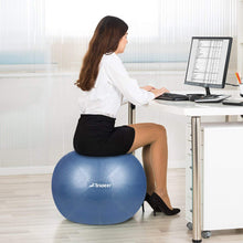 Load image into Gallery viewer, Trideer Exercise Ball (45-85cm) Extra Thick Yoga Ball Chair, Anti-Burst Heavy Duty Stability Ball Supports 2200lbs, Birthing Ball with Quick Pump (Office & Home & Gym)