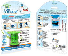 Load image into Gallery viewer, TubShroom the Revolutionary Tub Drain Protector Hair Catcher, Strainer, Snare, Green