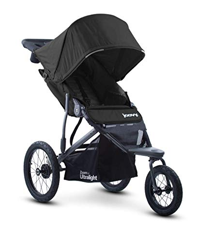 Joovy Zoom 360 Ultralight Jogging Stroller, Black 8067
