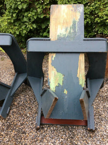Antique, vintage, adirondack, Harry Bunnell, garden, outdoor chair, rare find
