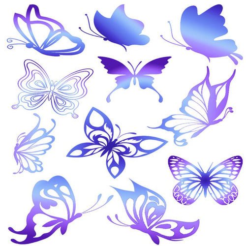 DIY Crystal Epoxy Filler Jewelry Making 3D Small Fish Butterfly Feather Sticker Handmade Three-dimensional Stickers