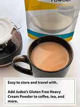 Load image into Gallery viewer, Judee's Gluten Free Judee's Heavy Cream Powder(11 oz): GMO and Preservative Free: Produced in the USA: Keto Friendly, Add Healthy Fat to Coffee, Freshness Locked in Package 11 Ounce