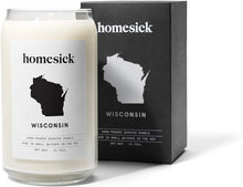 Load image into Gallery viewer, Homesick Scented Candle, Wisconsin