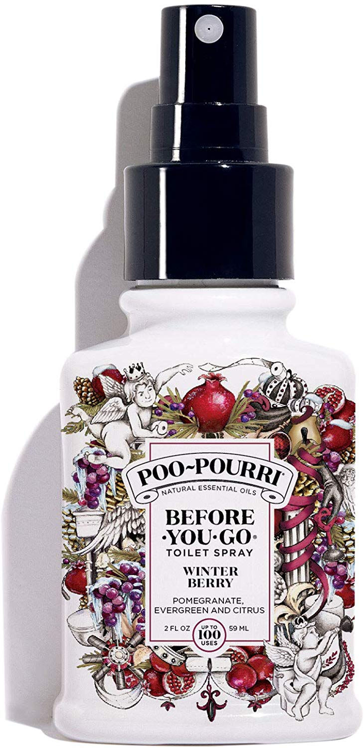 Poo-Pourri Before-You-Go Toilet Spray, Winter Berry Scent, 2 oz
