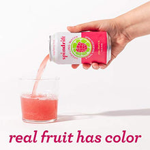 Load image into Gallery viewer, Spindrift Sparkling Water, Raspberry Lime Flavored, Made with Real Squeezed Fruit, Only 9 Calories per Seltzer Water Can, 12 Fl Oz Cans, Pack of 24 0-4102-0001 12 Fl Oz (Pack of 24)