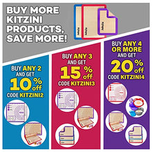 "Load image into Gallery viewer, Kitzini Pastry Mat Silicone Non Slip – Large Thick Non Stick Silicone Baking Fondant Mat - Rolling Dough, Pie Crust, Pizza and Cookies – Easy Clean Kneading Mat With Measurements – 16 x 26 Inch 8541883752 L - 16"" x 26"" Purple"