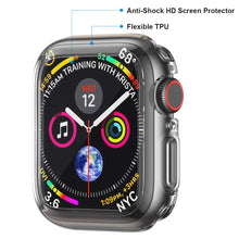 Load image into Gallery viewer, Penom Case for Apple Watch Screen Protector Series 5 Series 4 44mm, Ultra Thin iWatch 44mm Screen Protector with Full Protection TPU Cover
