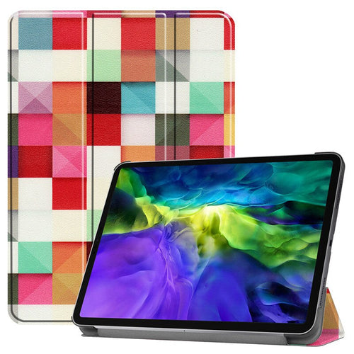 For iPad Pro 11 inch 2020 Case Transparent PU Leather Cute Magnetic Wake Sleep Silicone Cover for Apple iPad Pro 11 inch Cases