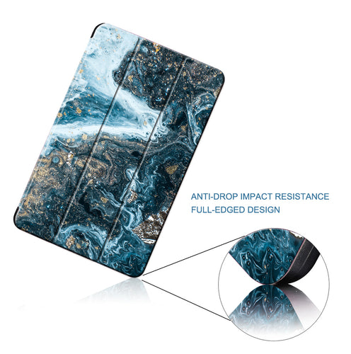 MTT Case For iPad Pro 12.9 inch 2015 2017 Marble PU Leather Fold Flip Stand Smart Cover Tablet Case A1584 A1652 A1670 A1671