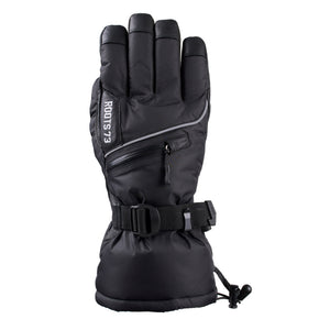 Roots 73 Goatskin Water-repellant Winter Gloves Large