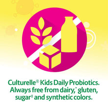 Load image into Gallery viewer, Culturelle Kids Regularity Probiotic & Fiber Dietary Supplement | Helps Restore Regularity & Keeps Kids' Digestive Systems Running Smoothly* | Works Naturally with Child'S Body* | 24 Single Packets