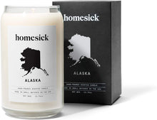 Load image into Gallery viewer, Homesick Scented Candle, Alaska