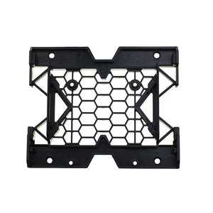 Nworld 5.25 inch to 3.5 inch 2.5inch SSD HDD Tray Caddy Case Adapter Kits Cooling Fan Mounting Bracket