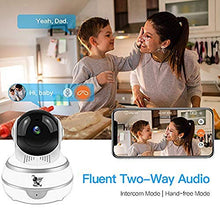 Load image into Gallery viewer, LIDELE Wireless IP Security Smart Camera, Nanny Camera, 1080P WiFi Home Surveillance Camera Indoor Dome Camera, Motion Tracker, Auto-Cruise, Night Vision, Two-Way Talk Elder/Pet/Office/Baby F3