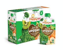 Load image into Gallery viewer, Happy Family Happy Tot Organic Stage 4 Baby Food Love My Veggies Spinach Apple Sweet Potato & Kiwi, 4.22 Ounce (Pack of 16) (Packaging May Vary) V4-SPAPSW-8