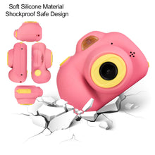 Load image into Gallery viewer, omzer Gift Kids Camera Toys for Girls, Cute Children Cameras Mini Camcorder for 3-8 Years Old Girl with 8MP HD Video Lens Great for Shooting, Deep Pink(16GB Memory Card Included)