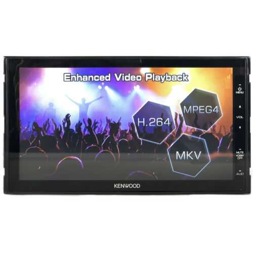 Kenwood DMX Double DIN Multimedia Bluetooth USB AM/FM Stereo Radio Receiver