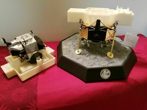 EXTREMELY RARE Apollo XI Lunar Module Franklin Mint 1:48 Model Moon 1969