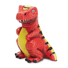 Load image into Gallery viewer, Melissa & Doug Decorate Your Own Dinosaur Figurines (All-Inclusive Art Set, Ready to Decorate, 6 Pots of Paint and Paintbrushes, Great Gift for Girls and Boys - Best for 8, 9, 10 Year Olds and Up) 8868 1 EA Multi