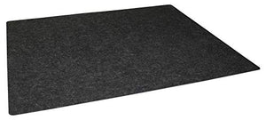"Drymate USMC2429 24"" x 29"" Under The Sink, Premium Shelf Liner, Mat – Absorbent/Waterproof – Protects Cabinets, Contains Liquids Made in The USA Charcoal"