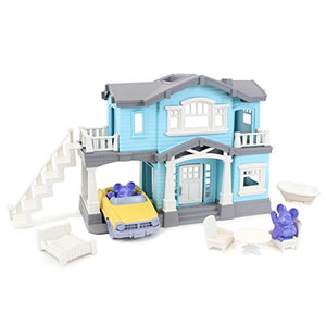 Green Toys House Playset, Blue PHSE-1239 1 EA