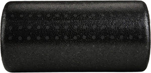 Basics High-Density Round Foam Roller, Black and Speckled Colors