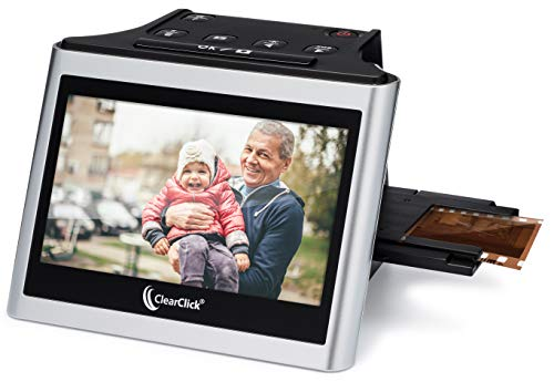 ClearClick Virtuoso 2.0 (Second Generation) 22MP Film & Slide Scanner with Extra Large 5