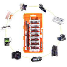 Load image into Gallery viewer, VEUSTAR Screwdriver Set, S2 Steel 60 in 1 with 56 Bits, Precision Magnetic Driver Kit, Professional Repair Tool Kit for Smart Phone/Computer/PC/Glasses/Laptop/Camera/Electronics Devices