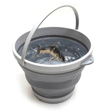 Load image into Gallery viewer, Collapsible Folding Water Bucket - Easy to Store - Highly Portable