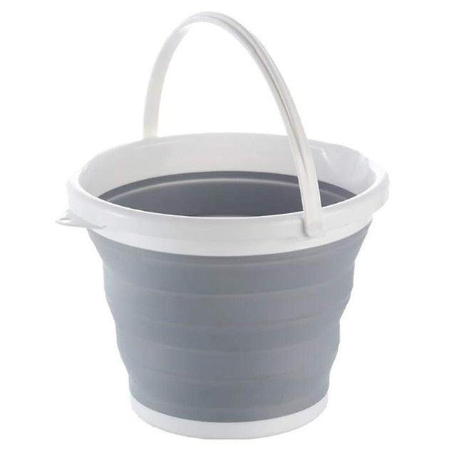 Collapsible Folding Water Bucket - Easy to Store - Highly Portable