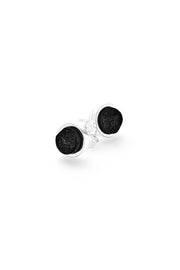 BLACK OCEAN STUD EARRINGS