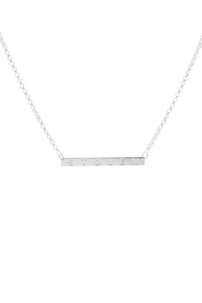 STOLEN PLANK NECKLACE