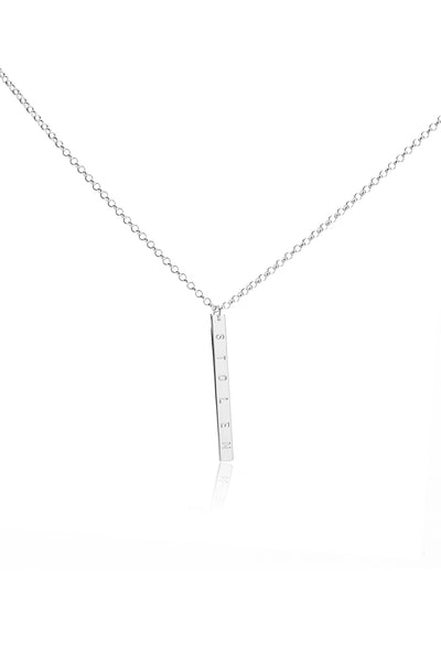 STOLEN BAR NECKLACE