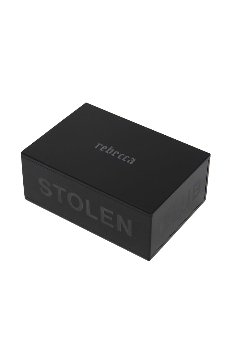 ENGRAVED BLACK JEWELLERY CASE