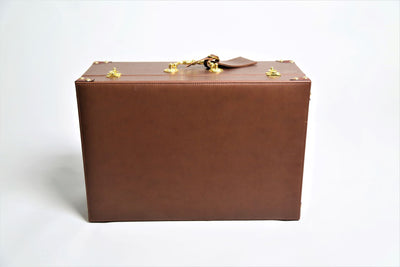 Faux Leather Box صندوق جلد صناعي