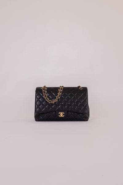 Chanel Black Quilted Bag