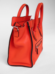 Calfskin Nano luggage handbag