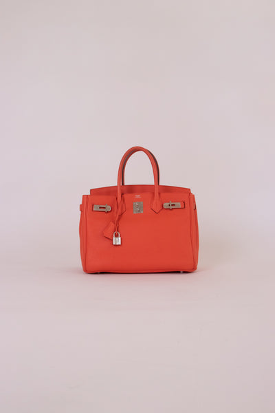 Hermes Birkin Orange
