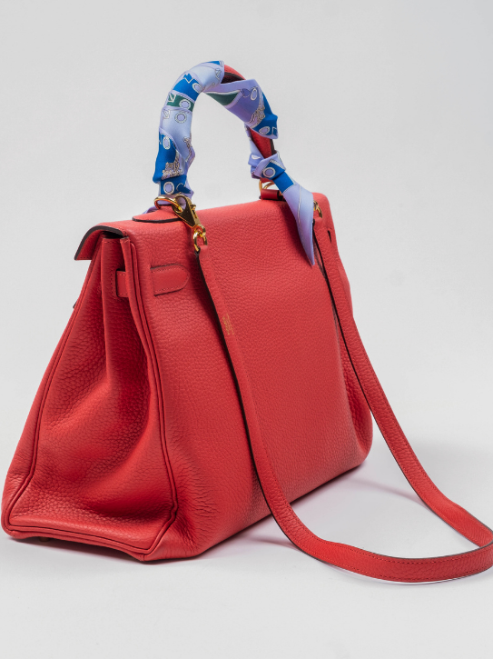 Kelly 35cm Togo Leather Handbag