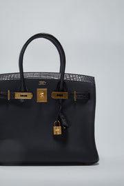 Hermes birkin touch bag