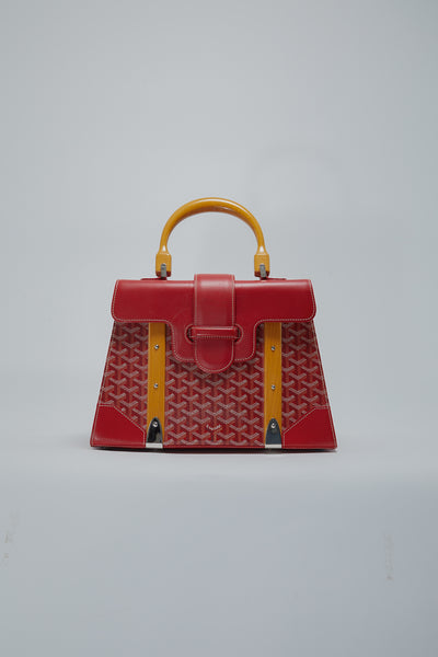 top handle goyard bag