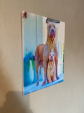 Pitbull canvas