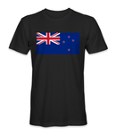 New Zealand country flag t-shirt