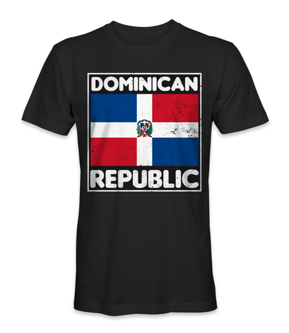 Dominican Republic country flag t-shirt