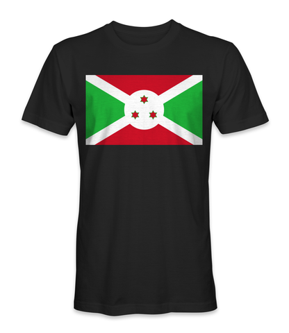 Burundi country flag t-shirt